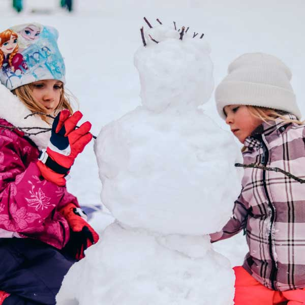 Family day trips to the Snow in Victoria